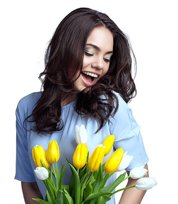 Получатель цветов