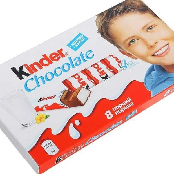 Kinder Chocolate 100г