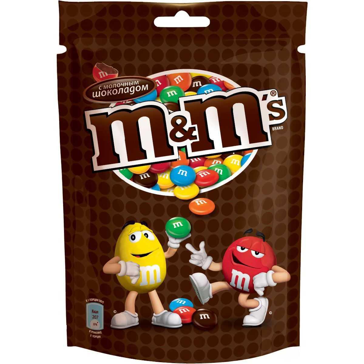 Драже M&M'S с шоколадом 130г